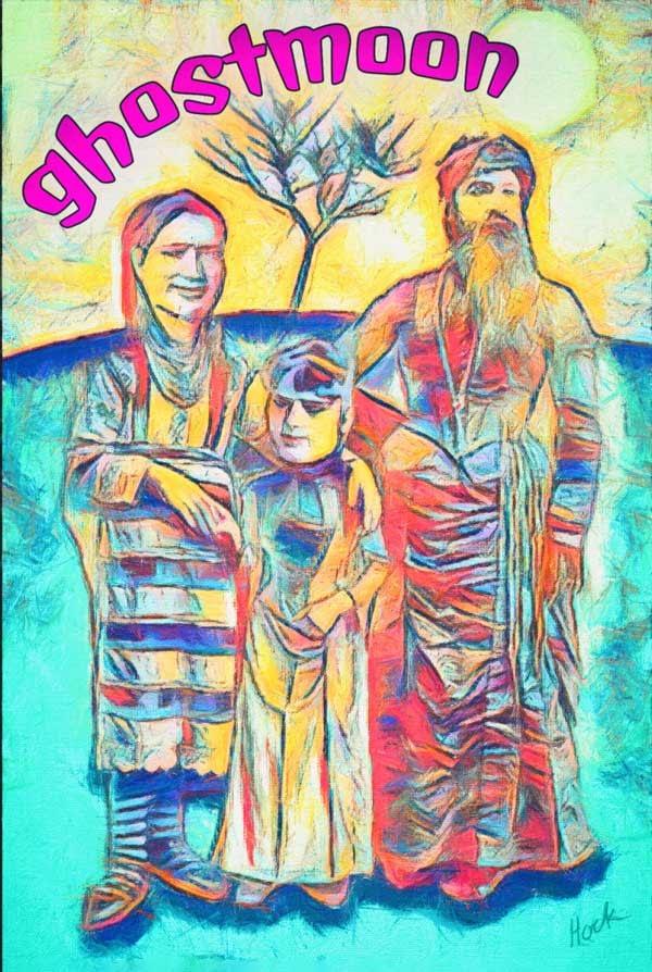 East European family - Poster