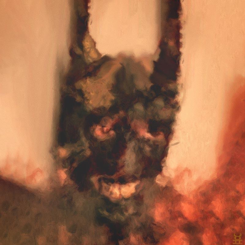 Portrait painting - Devil